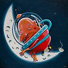 Sleepy Moon by Neil Elliott