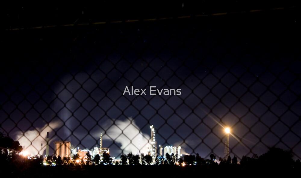 Night works by Alex Evans