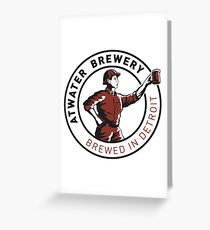 Atwater Brewery Greeting Card
