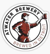 Atwater Brewery Sticker