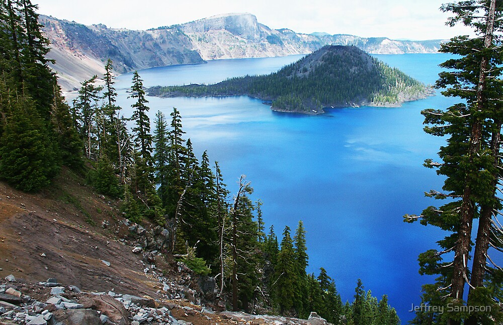 Crater Lake by Jeffrey Sampson