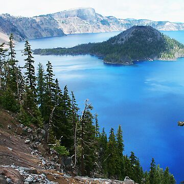 Crater Lake by jjsgraphics