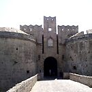 Castle of Rodos, Greece by Billy Andonaras