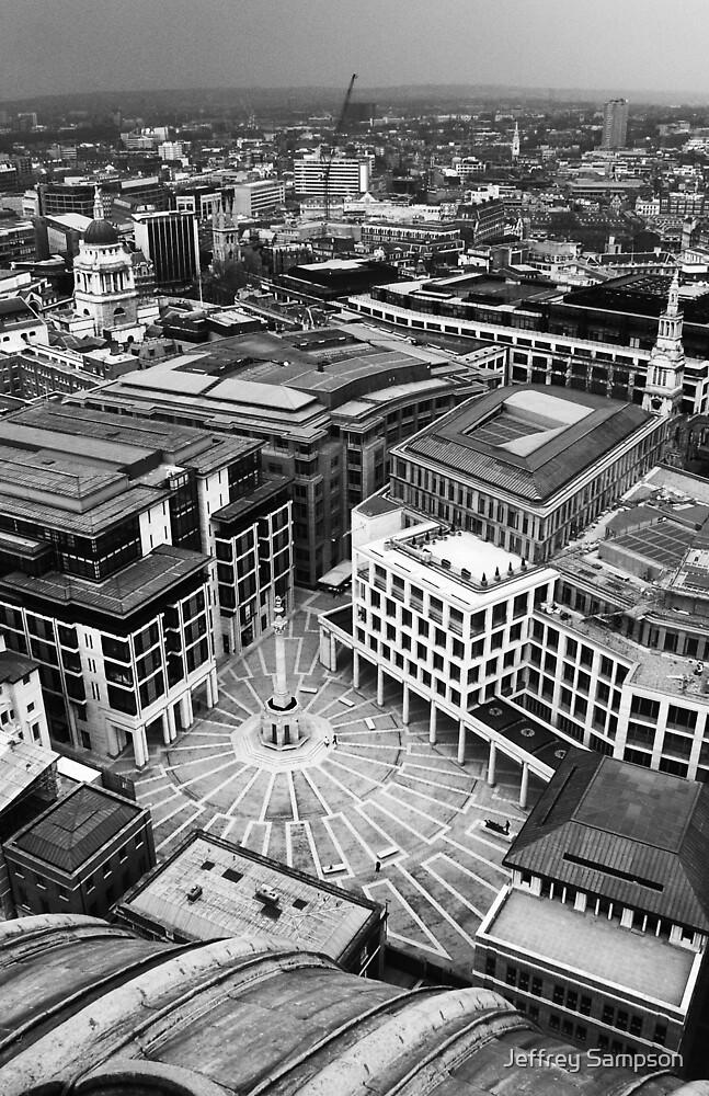 Overlooking London by Jeffrey Sampson