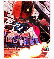 Rocket league Pro Player Paschy90 Gear Poster