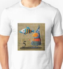 The number of the fish T-Shirt