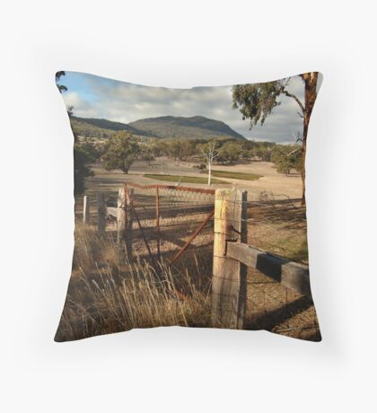 Mt Buangor State Park Throw Pillow