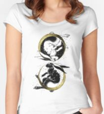 Astrological rabbits Women's Fitted Scoop T-Shirt
