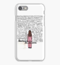 she persisted iPhone Case/Skin