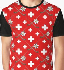 Switzerland - Schweiz - Suisse - Svizzera Graphic T-Shirt