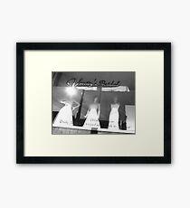 frocks Framed Print