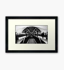 St John's Wood Tube Station Framed Print