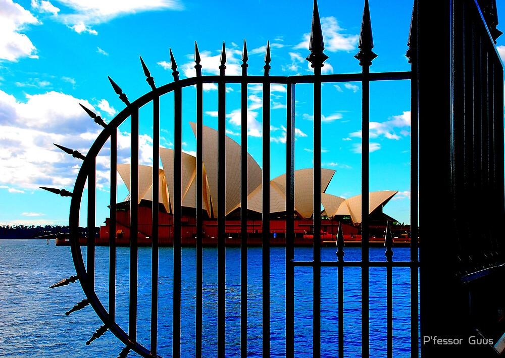 Sydney Opera House Behind Bars by P'fessor  Guus