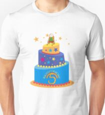 #HugsForNoah 5th Birthday Collection Slim Fit T-Shirt