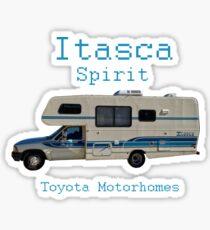 Toyota Itasca Spirit Motorhome  Sticker