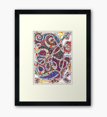Our Father (The Lord's Prayer) Framed Print