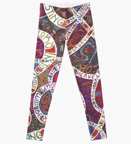 Our Father (The Lord's Prayer) Leggings