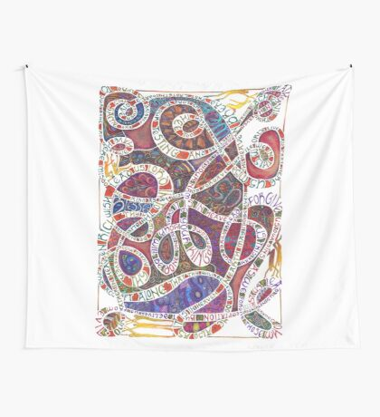 Our Father (The Lord's Prayer) Wall Tapestry