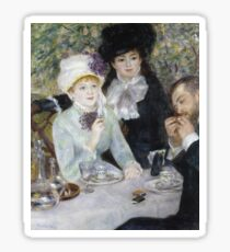 Auguste Renoir - After The Luncheon Sticker