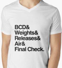 Scuba Diver Buddy Check BWRAF T-Shirt