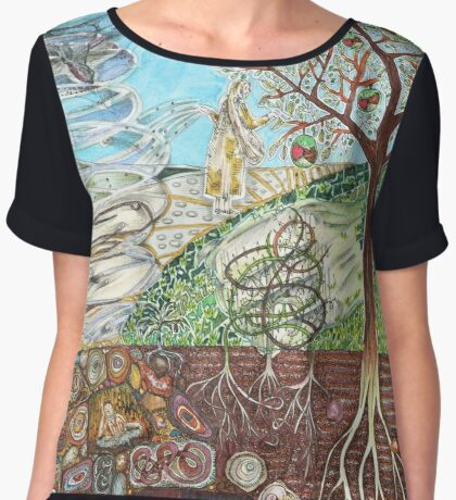 Parable of the Sower Women's Chiffon Top