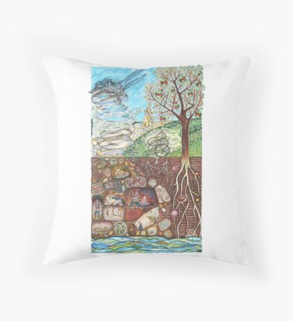 Parable of the Sower Throw Pillow