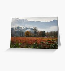 Fall In The Fraser Valley Greeting Card