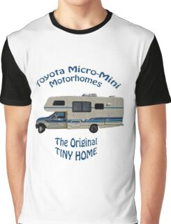 Toyota Motorhome The Original Tiny Home Graphic T-Shirt
