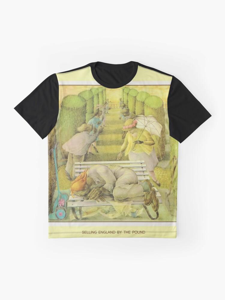 Alternative Ansicht von Genesis - England durch das Pfund verkaufen Grafik T-Shirt