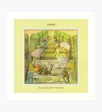 Genesis - England durch das Pfund verkaufen Kunstdruck