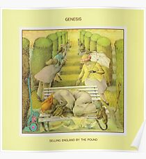 Genesis - Selling England by the Pound Poster