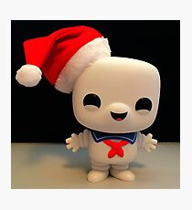 Santa Stay Puft Photographic Print