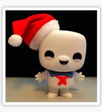 Santa Stay Puft Sticker