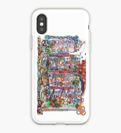 Peace and Strength iPhone Case