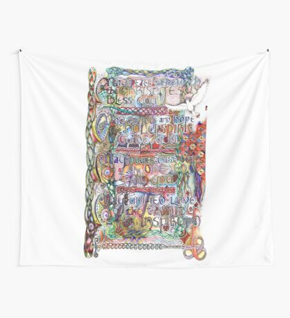 Peace and Strength Wall Tapestry