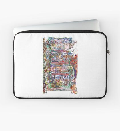 Peace and Strength Laptop Sleeve