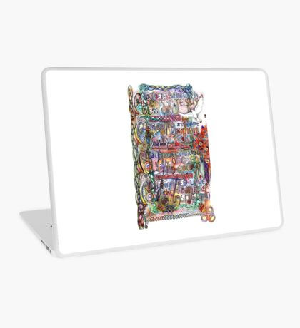 Peace and Strength Laptop Skin