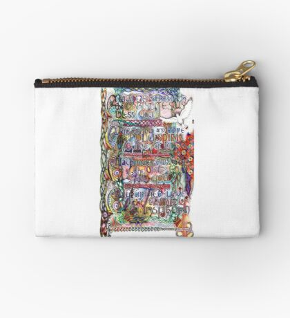 Peace and Strength Studio Pouch