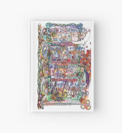 Peace and Strength Hardcover Journal