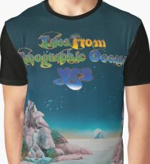 Yes - Tales from Topographic Oceans Logo Graphic T-Shirt