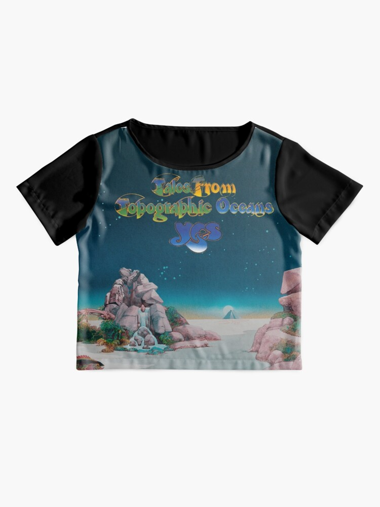 Alternate view of Yes - Tales from Topographic Oceans Logo Chiffon Top