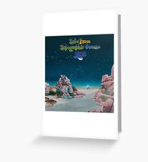 Yes - Tales from Topographic Oceans Logo Greeting Card