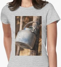 old kettle Womens Fitted T-Shirt
