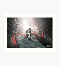 The Swan Curse - SwanFire Art Print