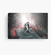 The Swan Curse - SwanFire Metal Print