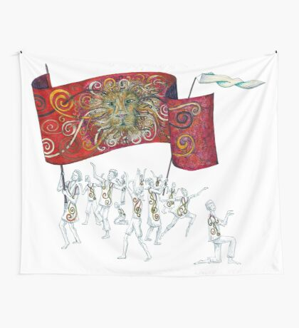 People of the Lion Wall Tapestry