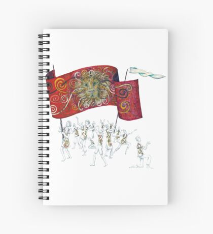 People of the Lion Spiral Notebook
