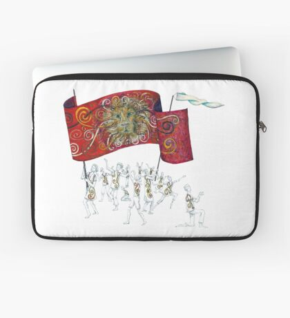 People of the Lion Laptop Sleeve