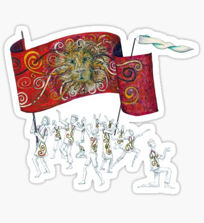 People of the Lion Sticker