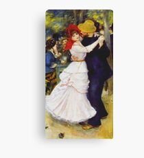 Auguste Renoir - Dance At Bougival 1883 Canvas Print